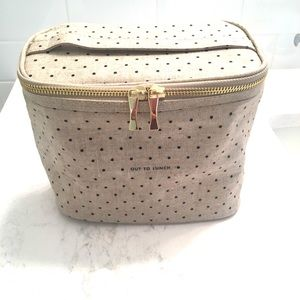 BN Kate Spade Insulated Lunch Tote polka dot